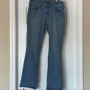 Faded Glory Women Size 12A Five Pocket Blue Jeans